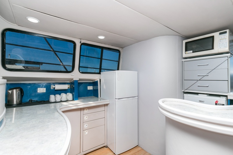 JADEN galley kitchen Perth boat charters