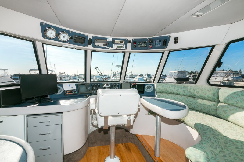 Jaden upper wheelhouse boat charters perth